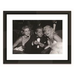 SVL337 - Marilyn Monroe, Humphrey Bogart, Lauren Bacall at Ciro's Nightclub (20x16