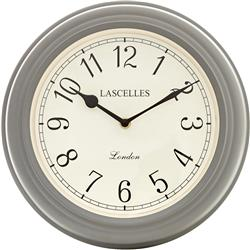 Lascelles Classic Wall Clock in Grey - 32cm