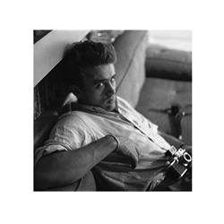 James Dean with Camera (16 x 16