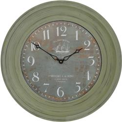 Traditionally Framed Clipper Dial Clock - 50cm