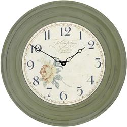 Traditionally Framed Angel Dial Clock - 50cm