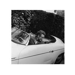 James Dean in Convertible (20 x 20