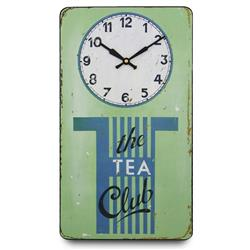 The Tea Club Wall Clock - 41.5cm
