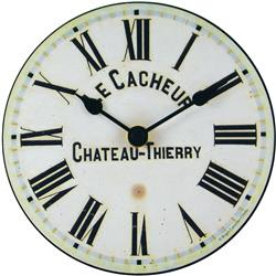Cacheur Table Clock - 15cm