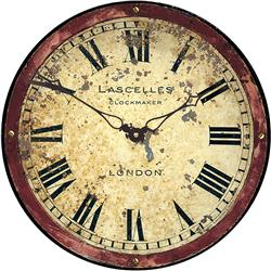 London Antique Dial Wall Clock - 36cm