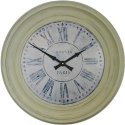 Traditionally Framed Chanvin Dial Clock - 50cm