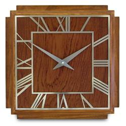Deco Wooden Wall Clock - 36cm