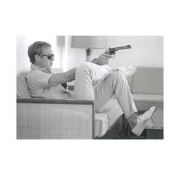 Steve McQueen Take Aim (32 x 24