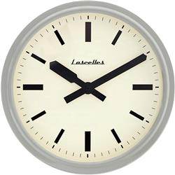 Deep Retro Dove Grey Wall Clock - 37CM