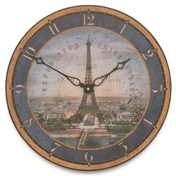 'Tour Eifel' Wall Clock -36cm