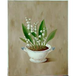 Lilly of Valley in Vase