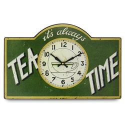 Tea Time Wall Clock - 41.5cm